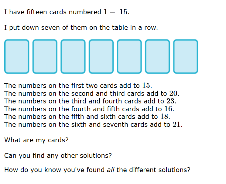 Maths blog